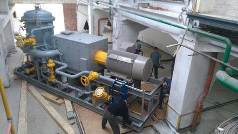 Kovoprojekta Brno a.s., Czech Republic - Installation of compressor unit for petrochemical industry