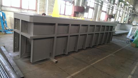 FIB Belgium, Production and delivery of special halfway basins - 11x13m for macerating of the wires