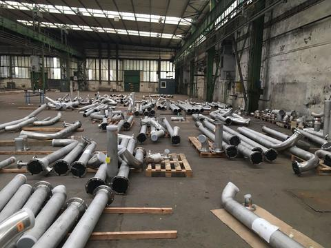 Pipe production for project in Pakistan