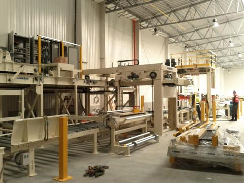 Saint Gobain Constr. Products CZ - Installation of production line for paste plasters