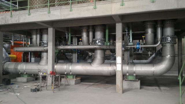 Delivery and installation of piping systems