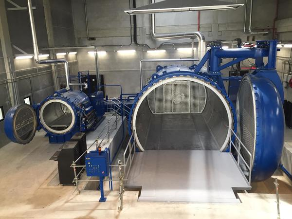 Installation and completation of autoclave for Air France for ASC Process Systems Ltd. - Charles de Gaulle airport Paris, France