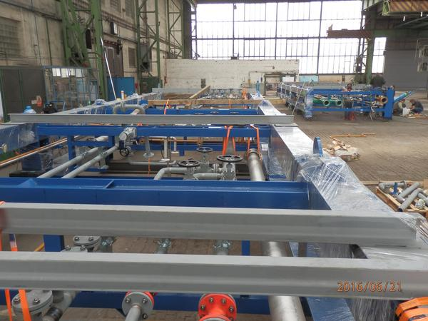 supply, pre-assembly of SKID units